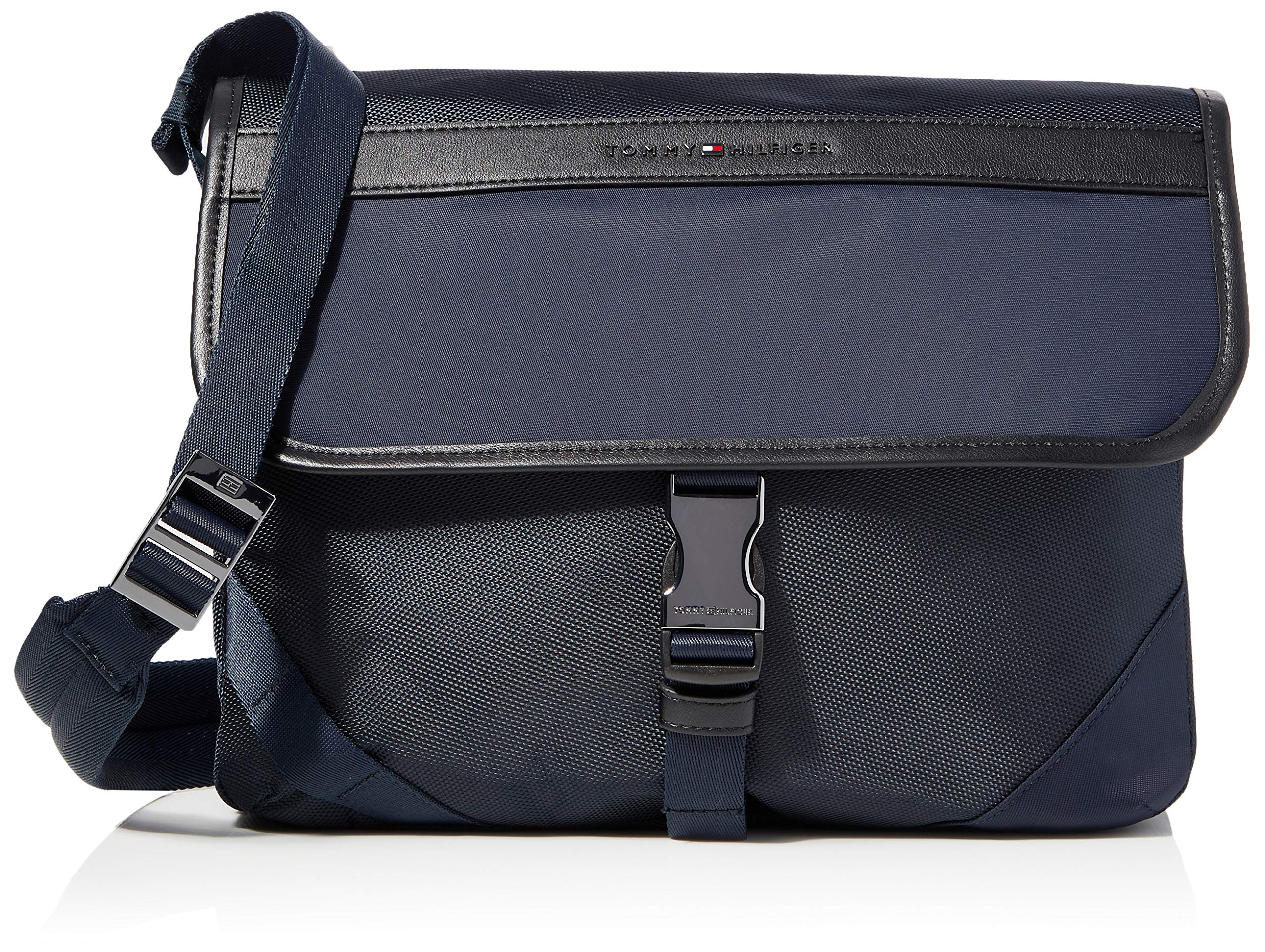 Tommy hilfiger ELEVATED NYLON MESSENGER, BLUE