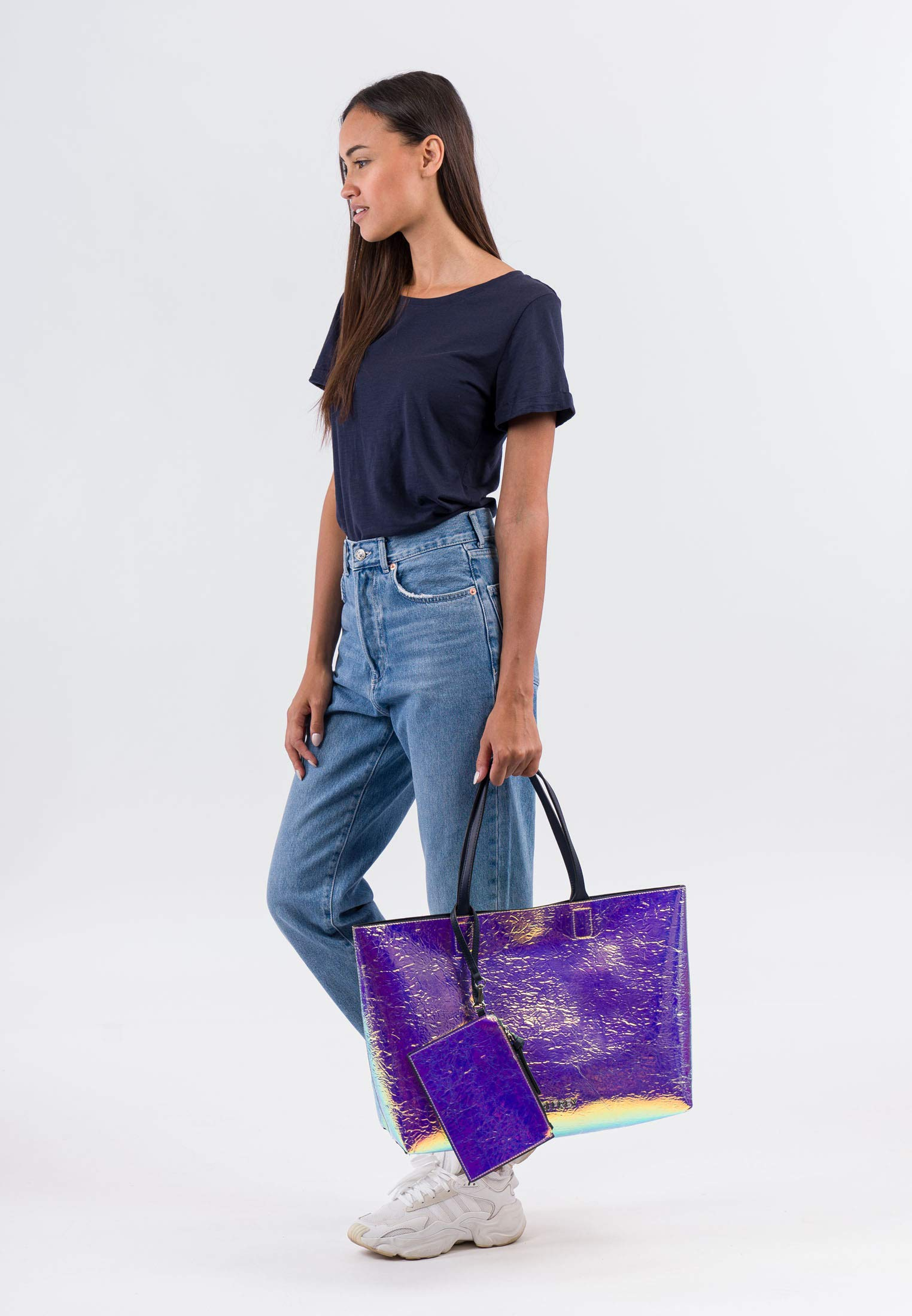 Suri Frey Shopper metallic