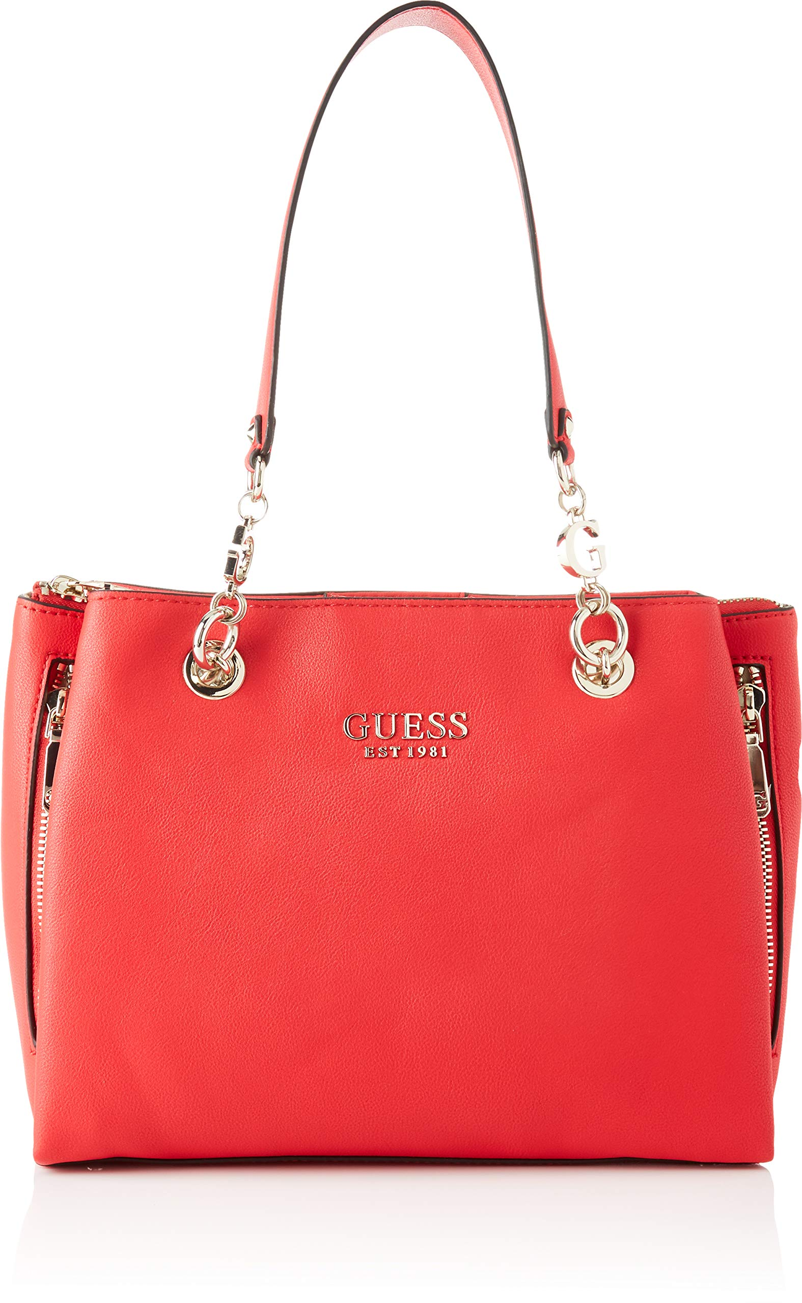 GUESS G CHAIN GIRLFRIEND SATCHEL