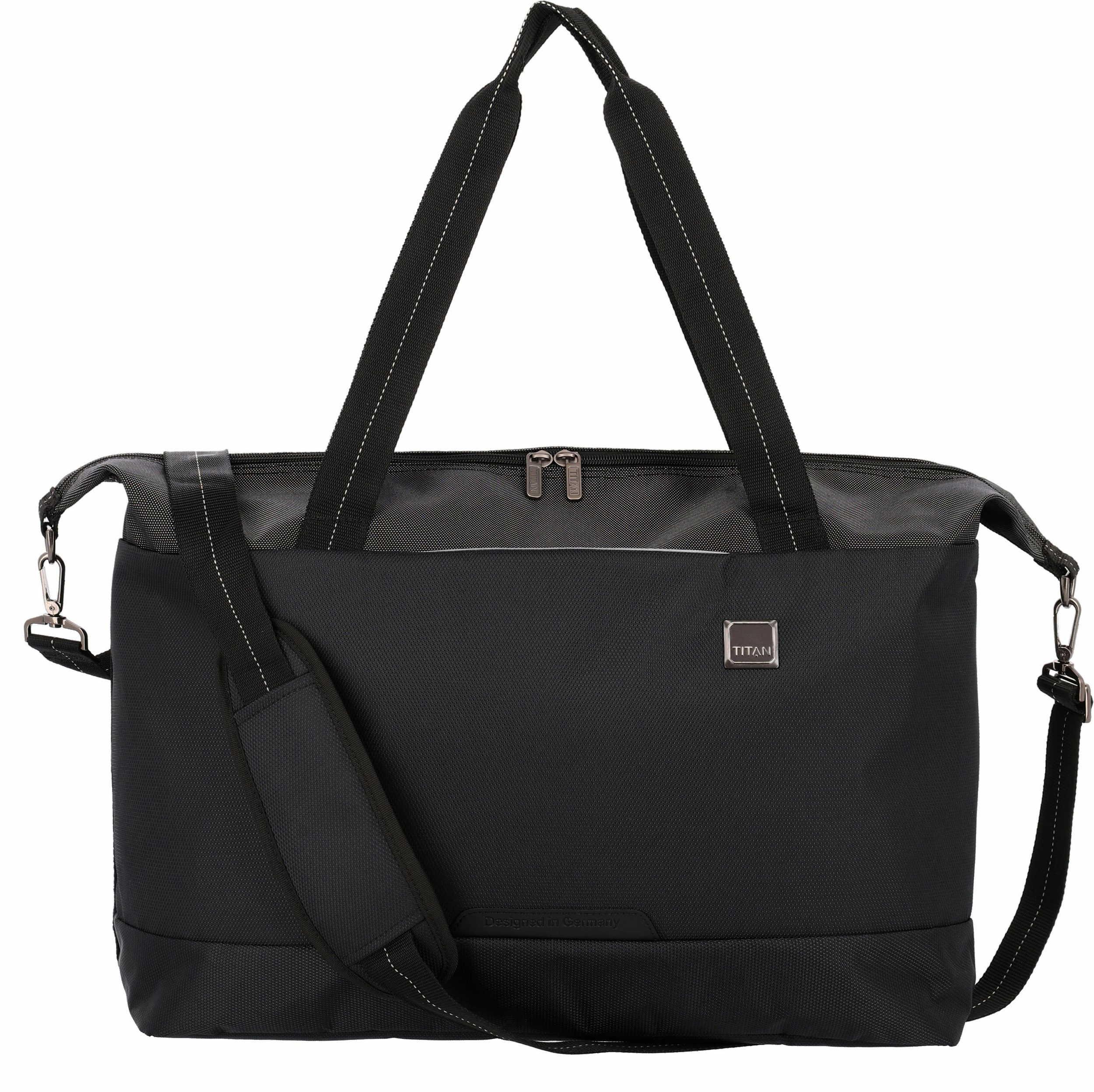 Titan Reisetasche schwarz