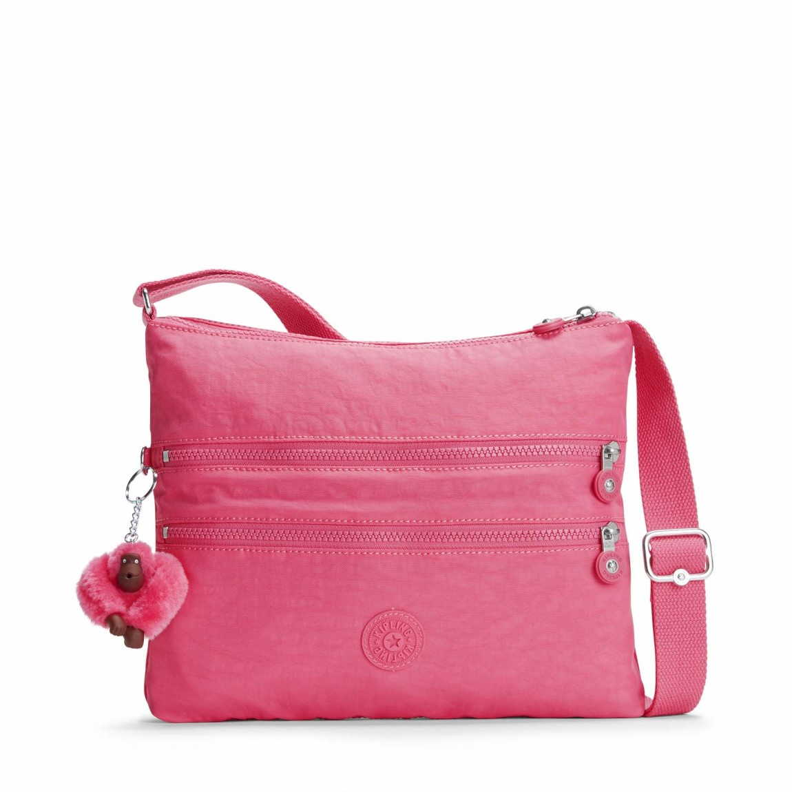 Kipling Umhängetasche lila/pink