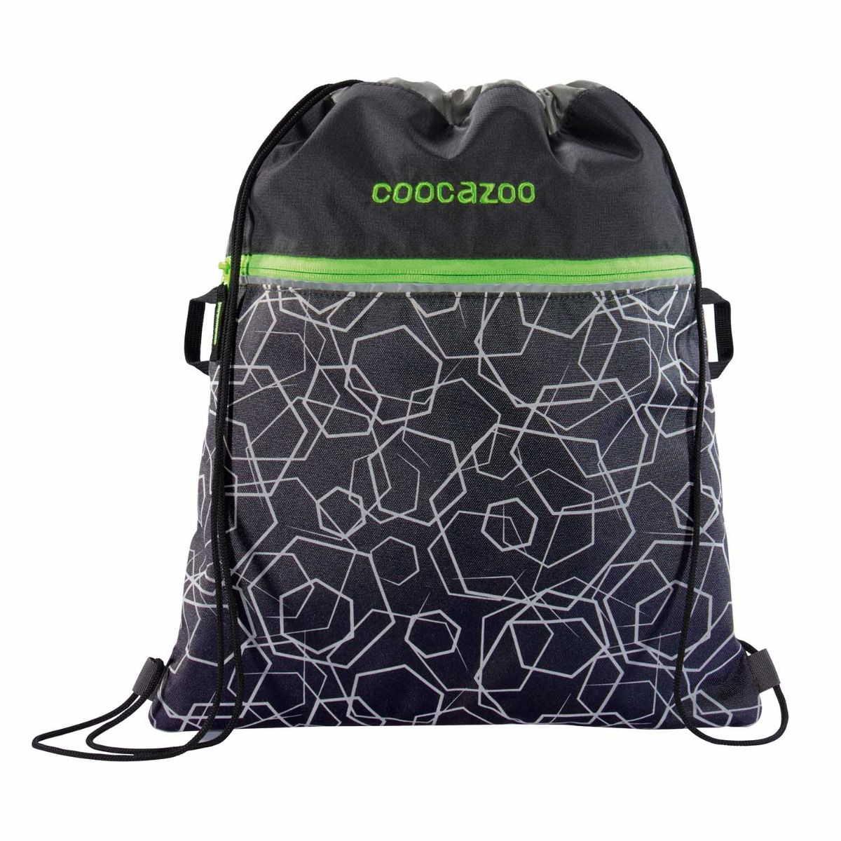 Coocazoo TURNBEUTEL grün Nylon