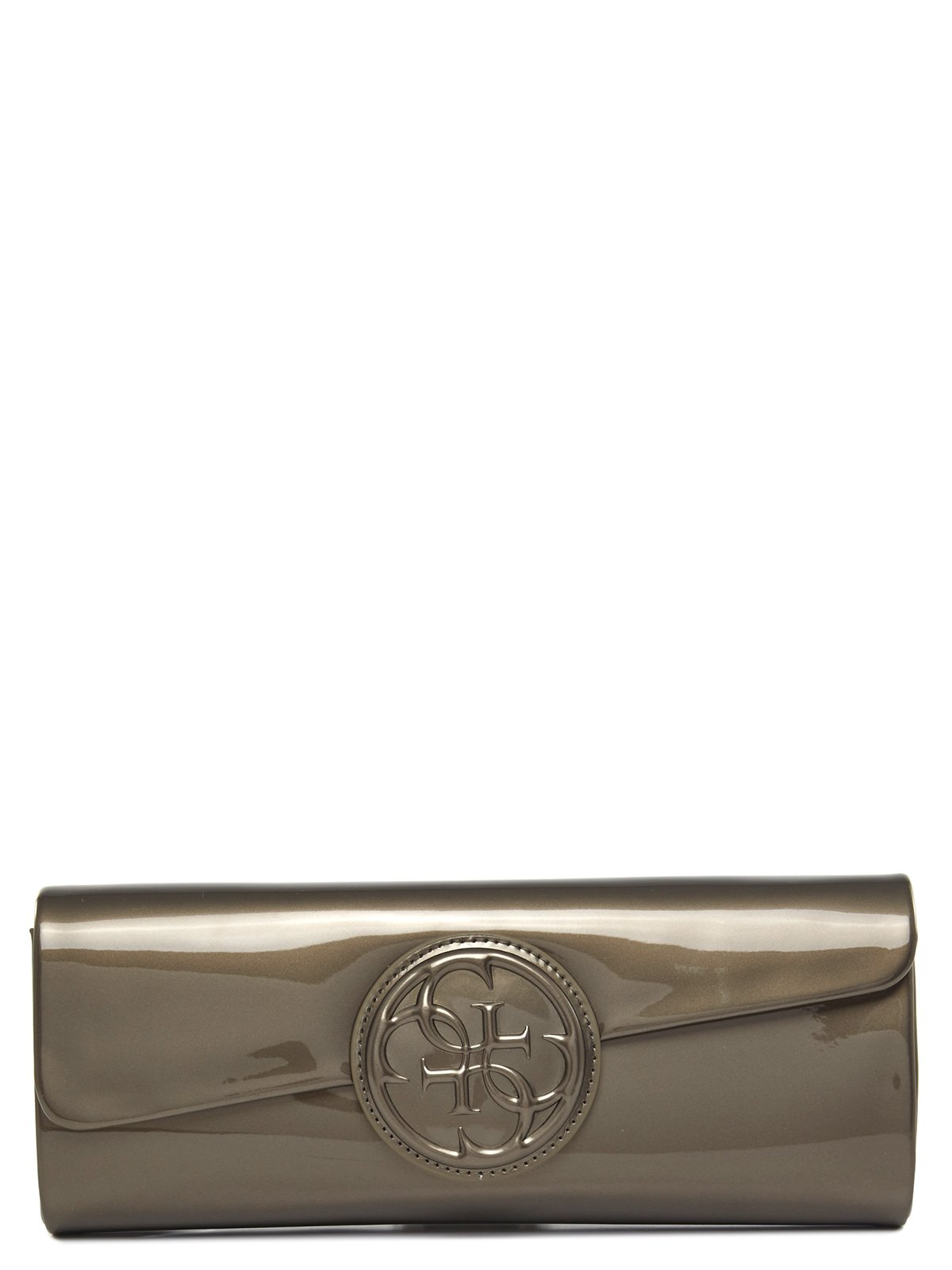 GUESS CLUTCH bronze PU