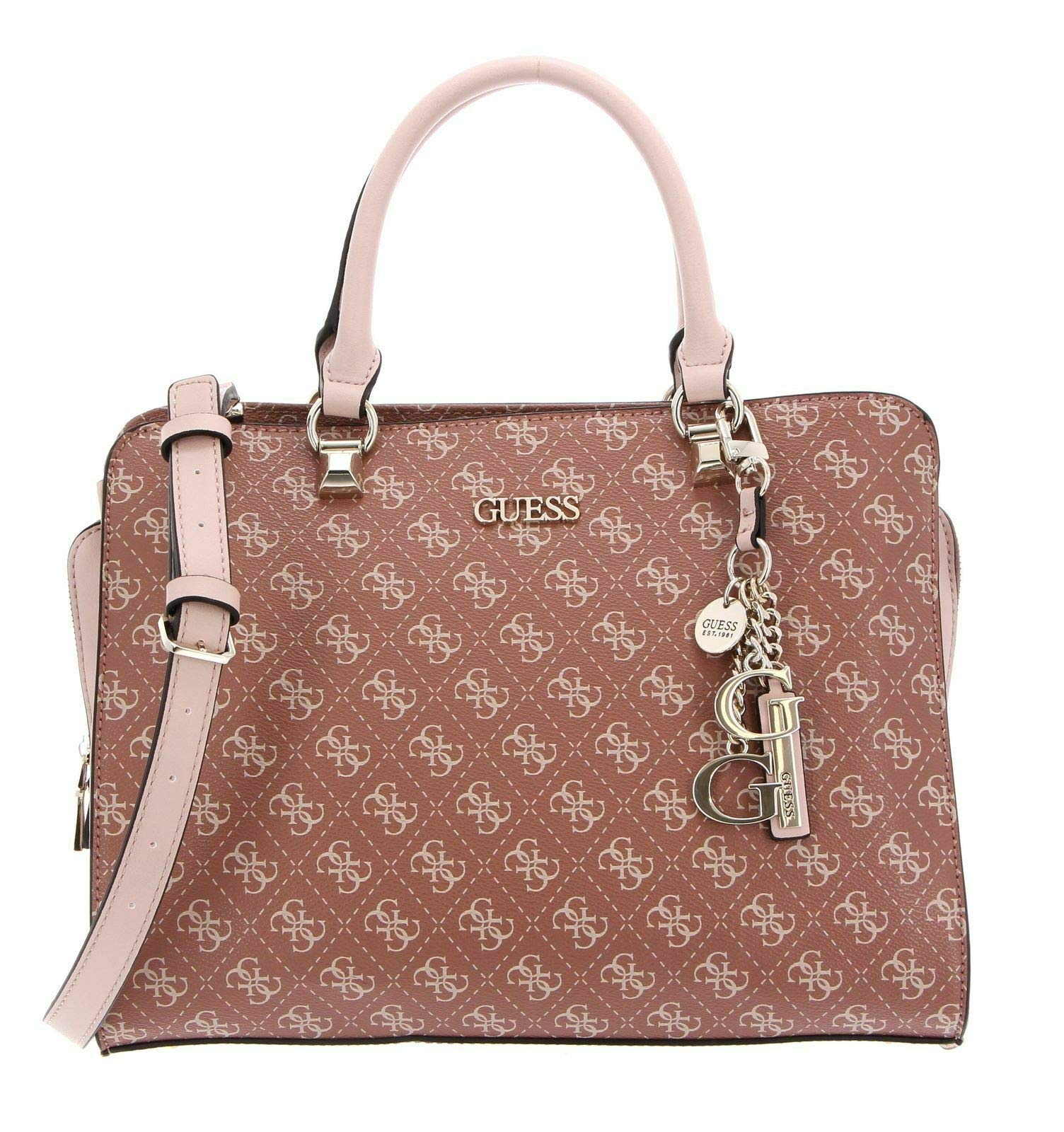 GUESS CAMY LARGE GIRLFRIEND SATCHEL