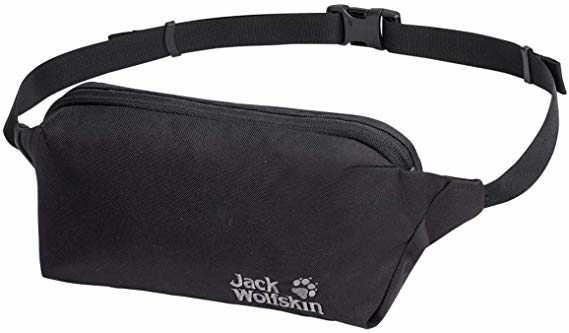Jack Wolfskin Bauchtasche schwarz