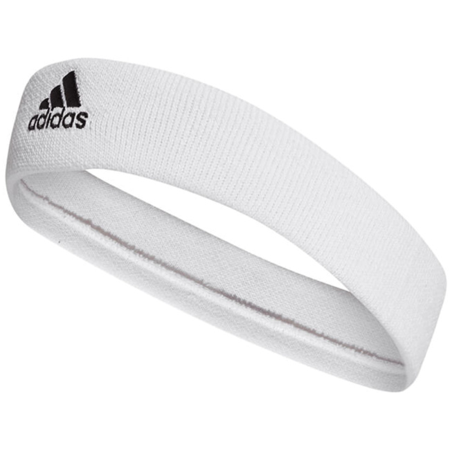Adidas TENNIS HEADBAND, WHITE/BLACK