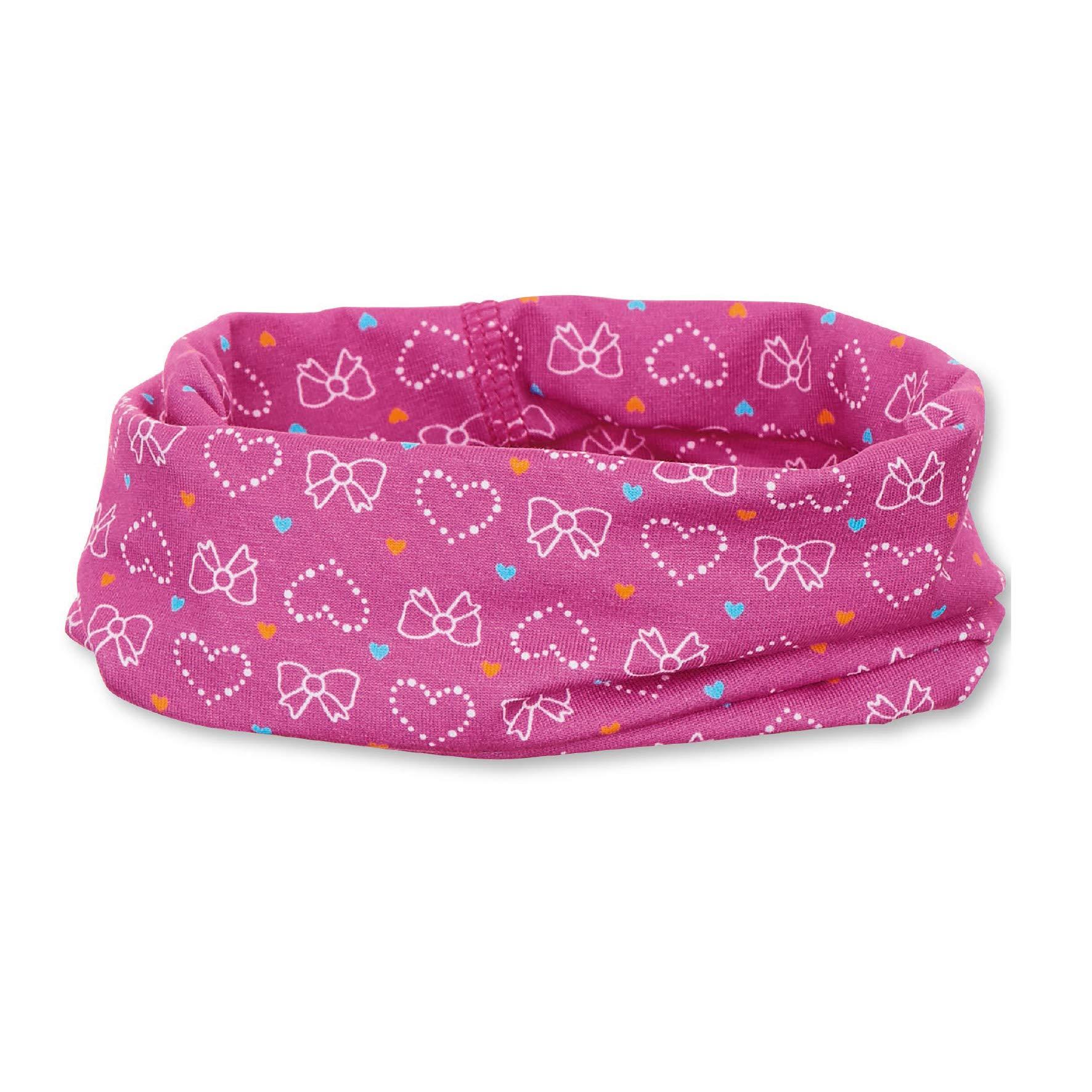 Sterntaler Mütze/Stirnband lila/pink