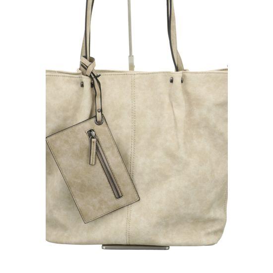 Maestro Handtasche beige