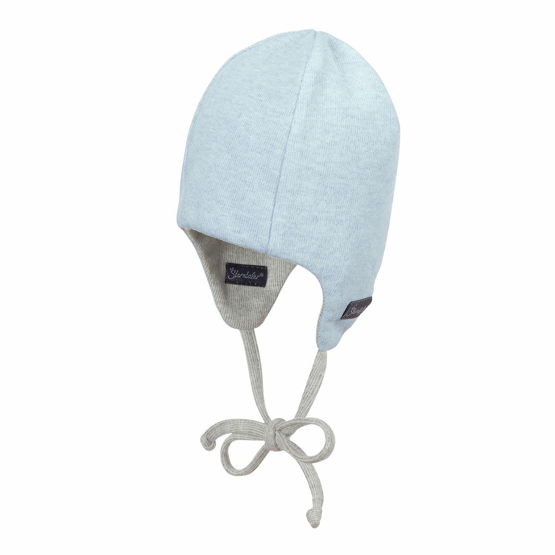Sterntaler Mütze/Stirnband blau