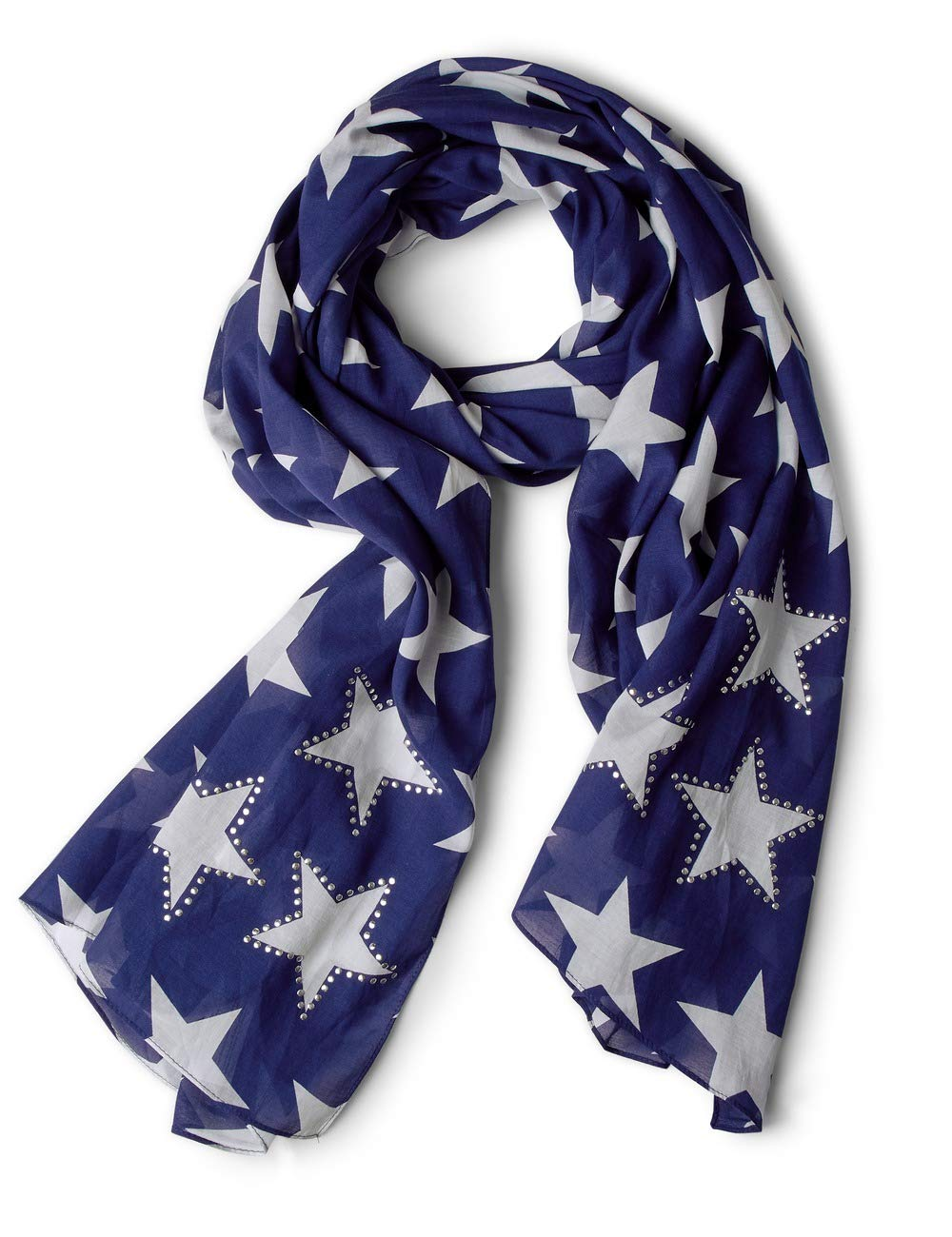 Street One Allover Star Scarf With Hotfix