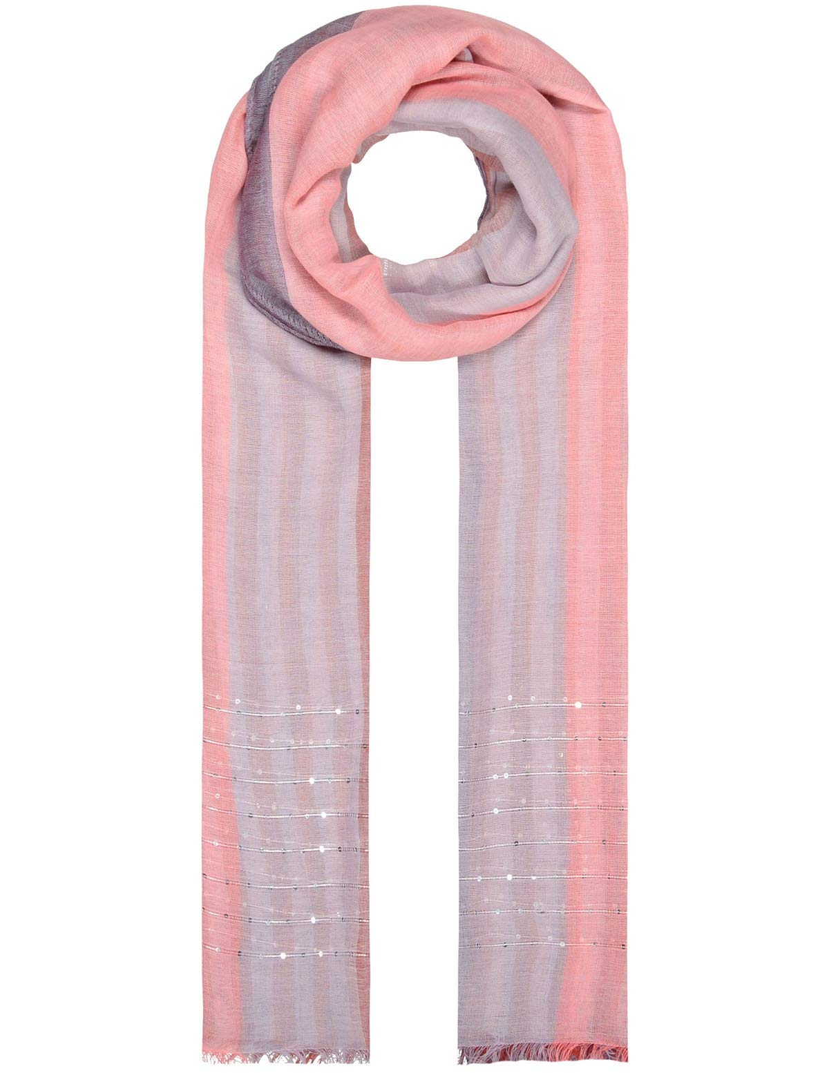 Basefield Schal/Tuch lila/pink