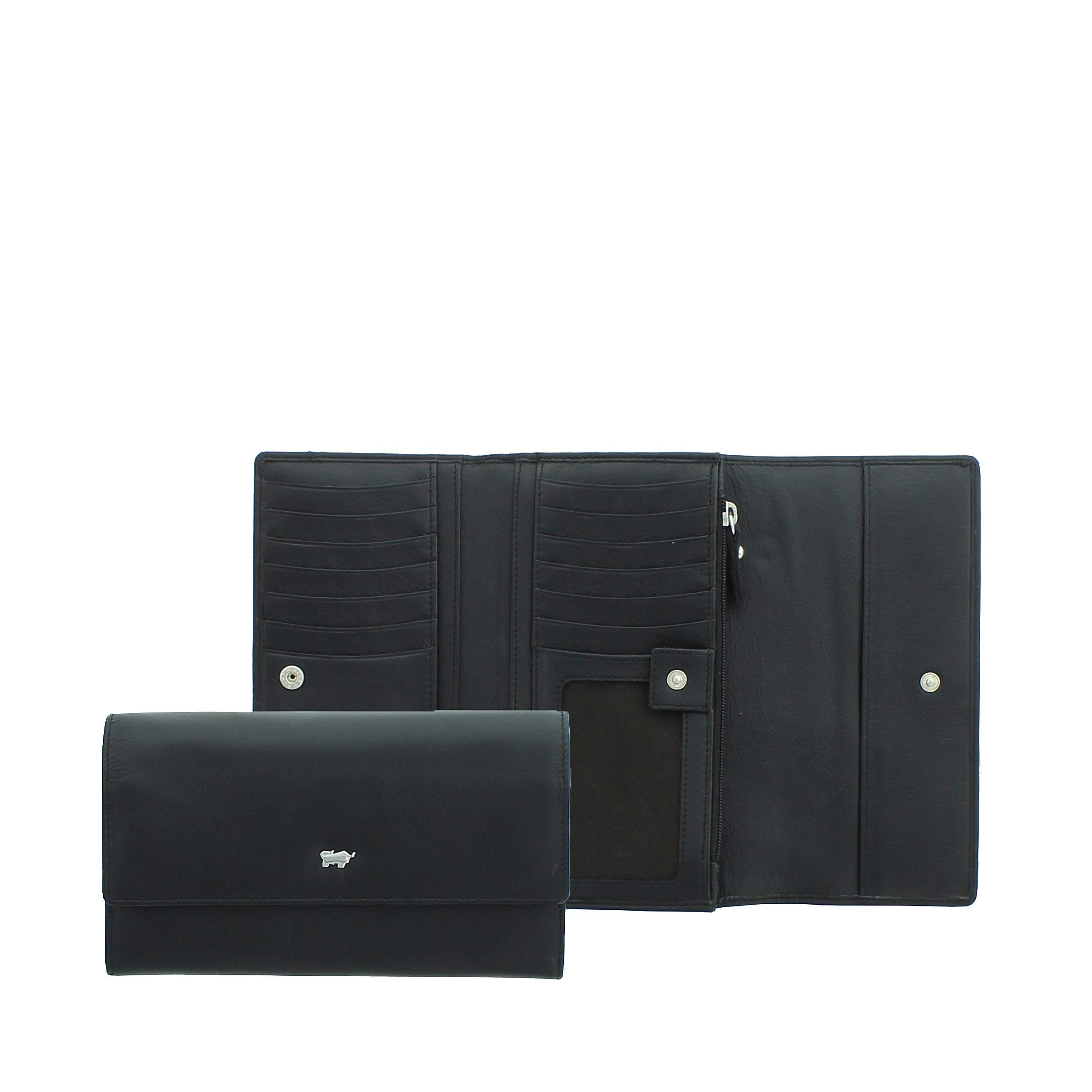 Braun Büffel Geldbörse schwarz
